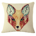 Wholesale 2016  Fox series /Animal thick linen pillow, home decorations without Core Plush Sofa Decorative Throw Pillows 45*45cm