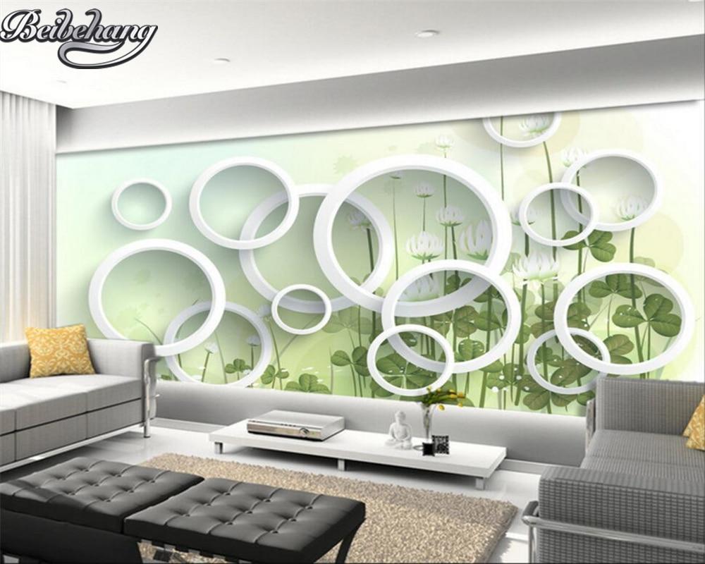 Beibehang Custom 3d Photo Wall Paper Elegant Flower Fashion Simple Modern Large Mural 3D Living Room Wallpaper 3d Render