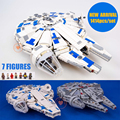 New Force Awakens fighter fit legoings Star Wars Millennium Falcon figures 10467 75212 Building Blocks bricks gift kid Toys