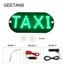 4 color Taxi Led Car Windscreen Cab indicator Lamp Sign Blue LED Windshield Taxi Light Lamp DRL DC 12V  BJ
