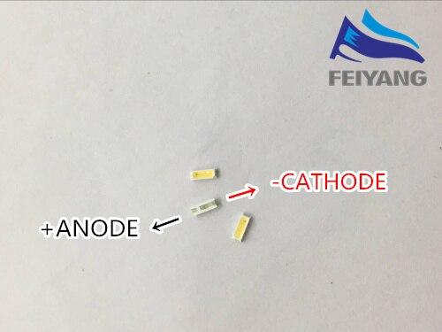 Светодиодный светильник EVERLIGHT, 200 шт., 0,3 Вт, 3 в, 4014 холодный белый, 29-31 лм, ЖК-подсветка для ТВ-приложения 50-315BZUH8C/S5000-00F