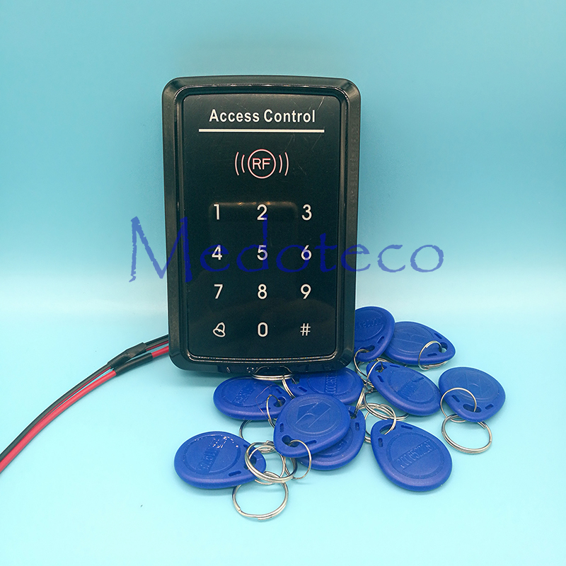 Touch Keypad Door Access Control 125khz Rfid access control system EM card touch key access controller wiegand 26 input & Output