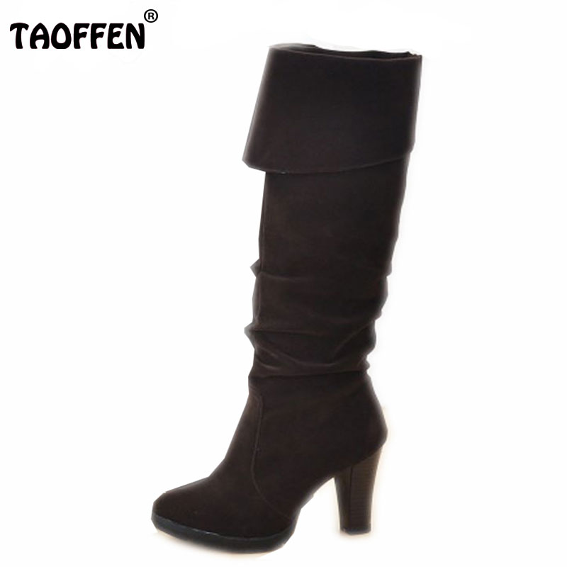 Women High Heel Over Knee Boots Fashion Snow Long Sexy Boot Warm Winter Brand Botas Footwear Heels Shoes P393 Size 34-41 яйцеварки ricci яйцеварка ricci page 3