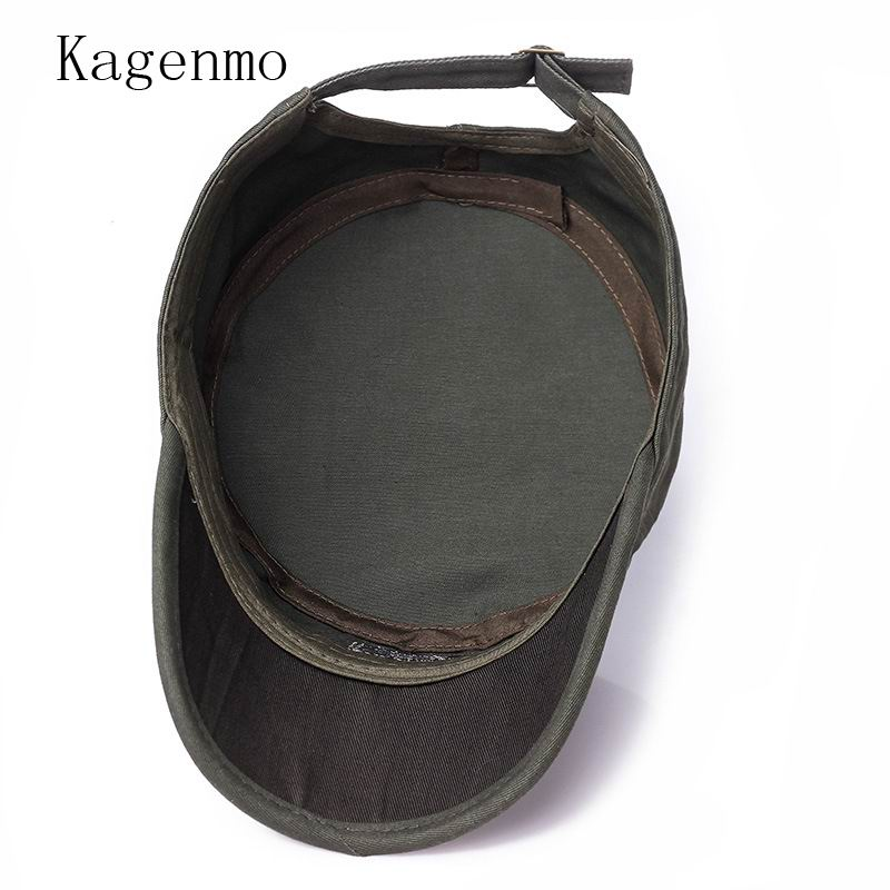 2a1edf9ad9e GBCNYIER Thin Cotton New Style Army Hat Fashion Casual Male Female Visor  Camouflage Spring Outdoor Stroll Military Hats-in Military Hats from  Apparel ...