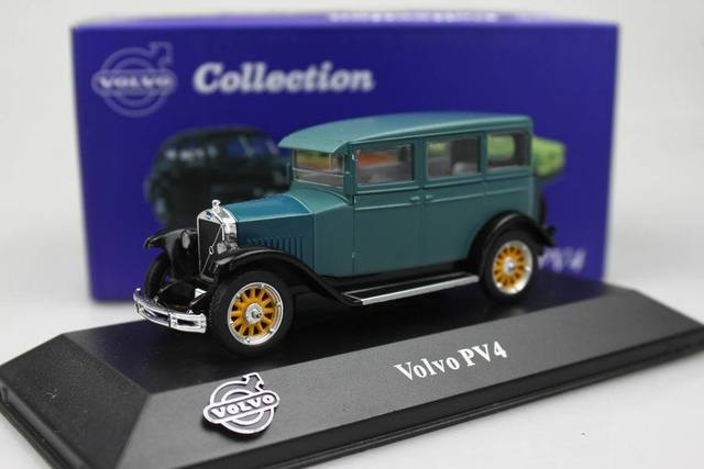 Atlas 1 43 Volvo Pv4 Alloy Car Models Classic Car Carriage Type In