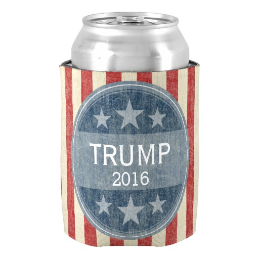 Unique Donald font b Trump b font for President 2016 Can Cooler Special Neoprene Can Holder