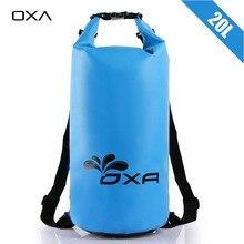 OXA 20L Открытый ПВХ IPX6 Водонепроницаемый Сухой Мешок Прочный Легкий Дайвинг плавающей Отдых Туризм Плавание Рюкзак Дорожные Сумки(China (Mainland))