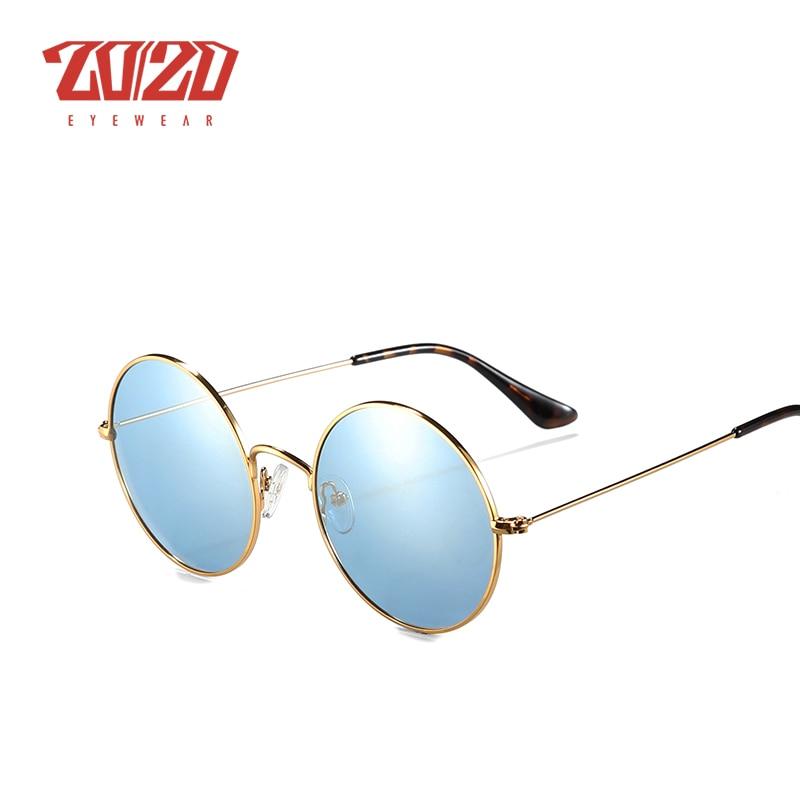 20/20 Brand New Unisex Sunglasses Men Polarized Women Vintage Round Metal Glasses Accessories Sun Glasses for Women 17008 4