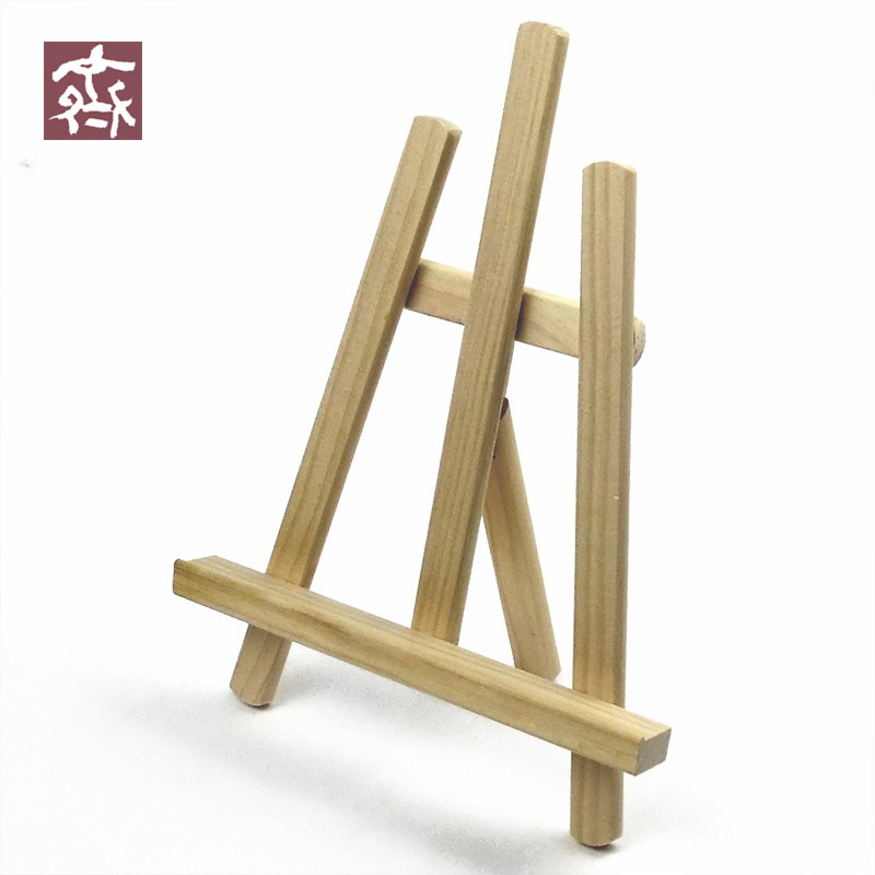 New mini wood sketching drawing easel painting for child decorative desk table picture frame Mini chevalet de table