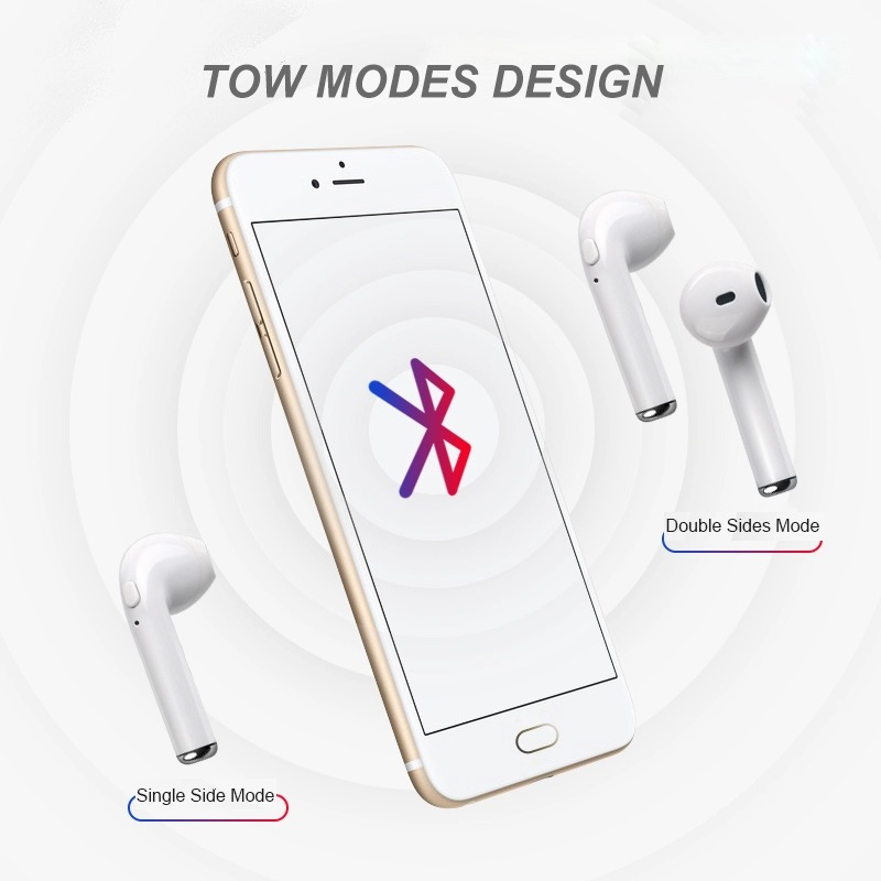 i7s TWS Mini Bluetooth Wireless Earphones Earbuds With Charging Box Sports Headset Android Audifonos i11 touch control key elari