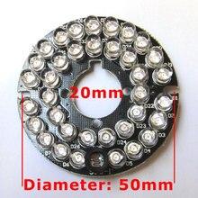 36LEDs 5mm Infrared IR 90 Degrees Bulbs Board 850nm Illuminator 36 Leds For CCTV Camera