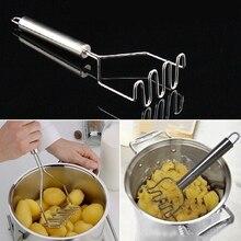 Gift 1PCS Salad Potato Mashers Ricers Crusher DIY Egg Vegetable Baking Stainless Steel Masher Kitchen Tools 54097