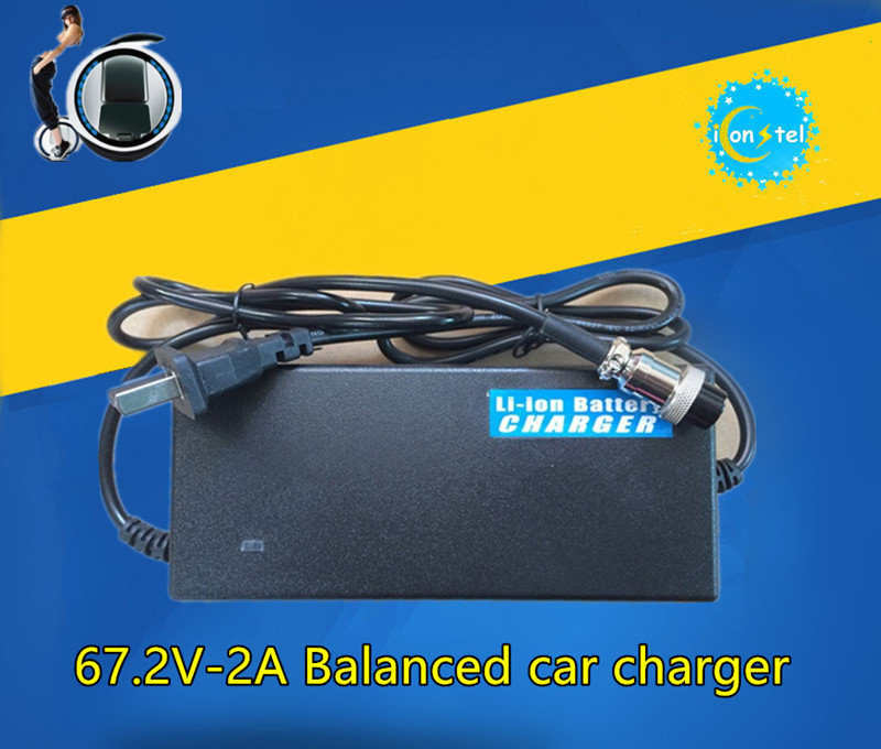 ICL New Balance car charger Electric unicycle Li ion battery 60V universal Upgraded Power Charging adapter DZL601001 67.2V 2A