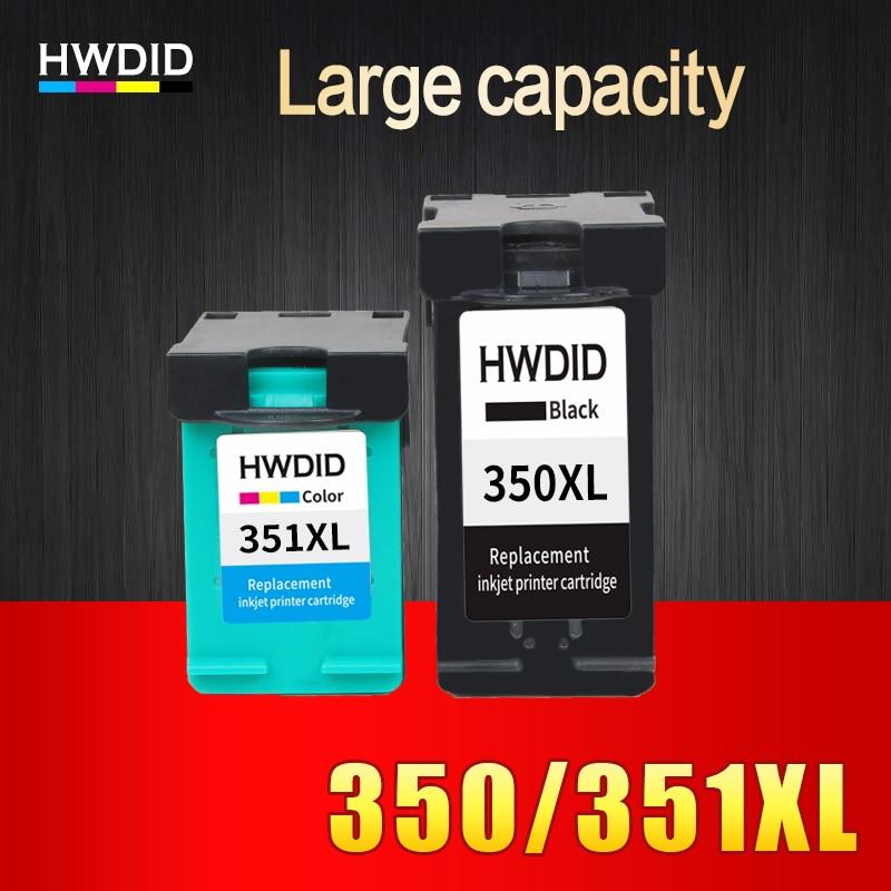 2pcs ink cartridge for HP 350 351 350XL 351XL compatible for HP D4200 D4260 D4263 D4360