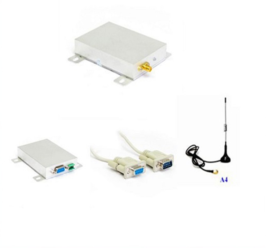 Communication Equipments Fixed Wireless Terminals 5w 10km 433mhz Transmitter Vhf Receiver Rs232 Rs485 Radio Modems Digital Data Transmission Long Range Transceiver For Scada