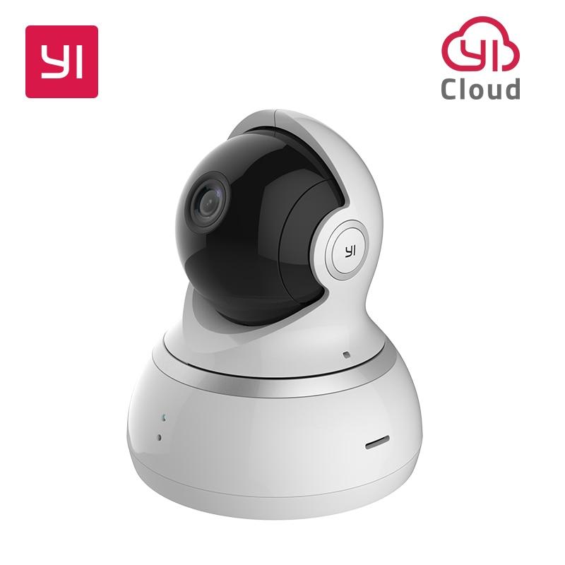 YI 1080P Câmera Dome Visão Noturna Versão Internacional Pan/Tilt/Zoom de Vigilância de Segurança Sem Fio IP YI Nuvem disponível