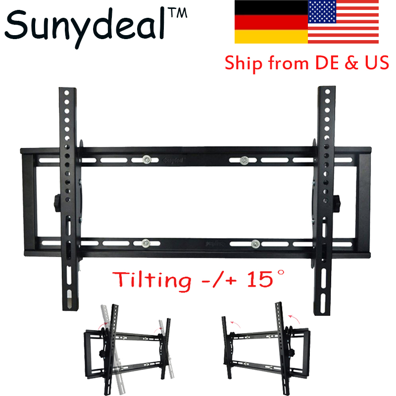 "TV Wall Mount Bracket Tilt TV Stand Suitable Size 26"" 37"" 40"" 42"" 50"" 52"" 55"" 60"" 65 70"" Monitor Stand VESA max to 600x400mm"