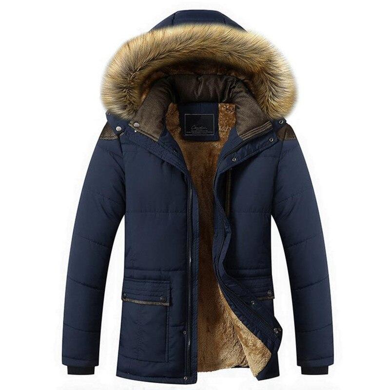 ФОТО 2017 hot warm men's casual jackets coat plus cotton coat Overcoat free shipping