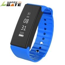 Новый роскошный Смарт часы D1 Новый Водонепроницаемый Bluetooth Watch Sport Браслет Сна Трекер мужские часы happybate
