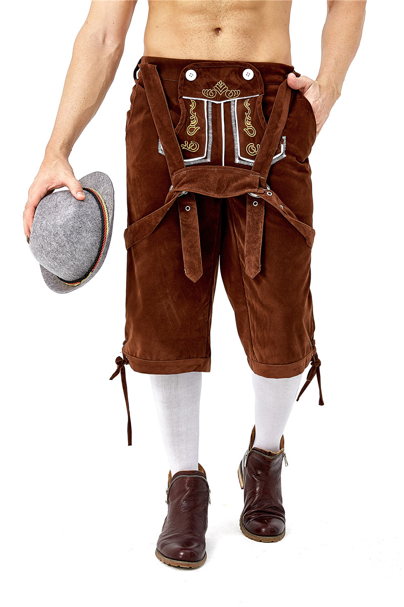 Hot Selling Adult Oktoberfest Costume Traditional German Bavarian Beer Male Festival Cosplay Octoberfest Party Clothes