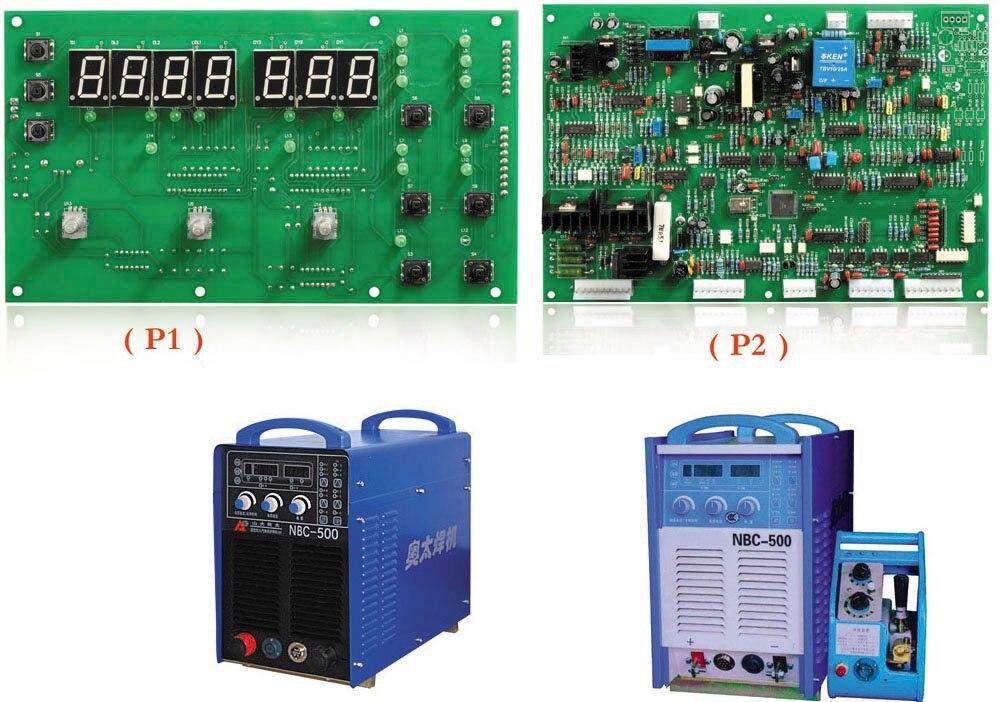 NBC 500 digital PCB for MIG Series IGBT Inverter Digital gas shielded welding machine MIG/MAG /co2 soft switching control