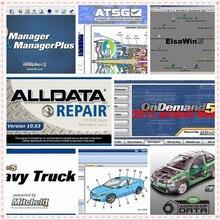 2019 Alldata и Митчелл программного обеспечения автосервис данных Alldata 10,53 Митчелл ondemand5 2015 v Vivid workshop данных ElsaWin 1 ТБ HDD