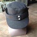 WWII WW2 GERMAN ARMY EM PANZER M43 M1943 CAMPO GORRO de LANA NEGRO SOMBRERO DE/40105