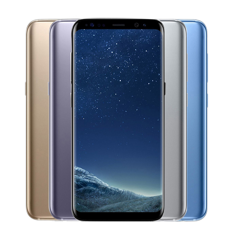 Original Unlocked Samsung Galaxy S8 Plus 4G RAM 64G ROM 6.2 inch Qualcomm Octa Core 4G LTE Mobile Phone Fingerprint Android 7.0