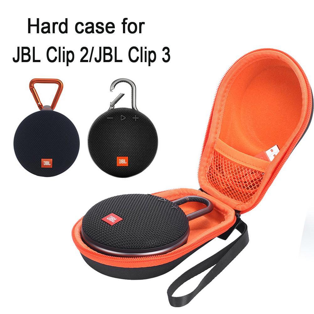 New EVA Shockproof Dustproof Hard Shell Protective Storage Case Bag For JBL Clip 2 3 Clip2 Clip3 Bluetooth Speaker Gadgets