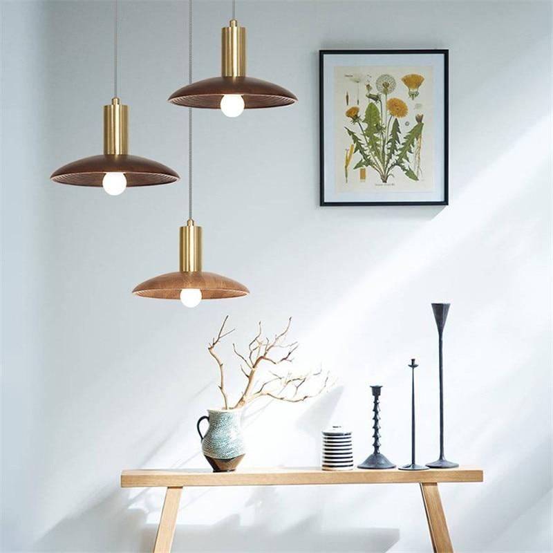 Japanese Style Single Droplight Modern LED Pendant Light ...