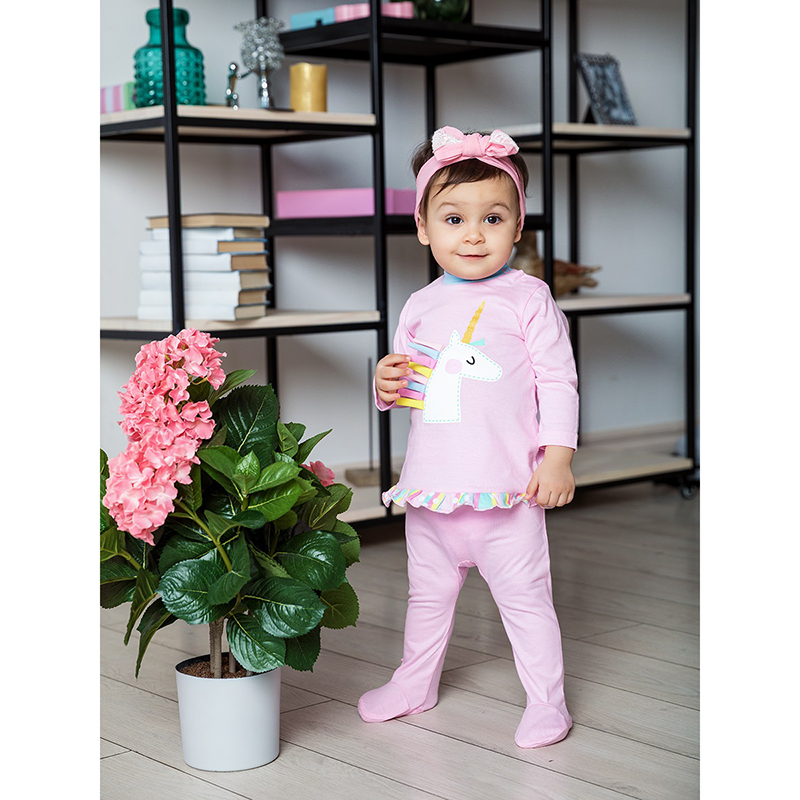 Romper for girls КОТМАРКОТ 5492 girls baby lace trim spot romper