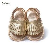 ФОТО infant baby girl tassel summer shoes leather soft bottom crib anti-slip shoe first walkers lh7s