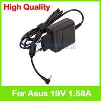 19V 1.58A AC адаптер питания зарядное устройство для ASUS Eeepc X101CH 1001PXD 1015BM AD82000 AD82030 AD820M0 EXA1004EH штепсельная вилка европейского стандарта