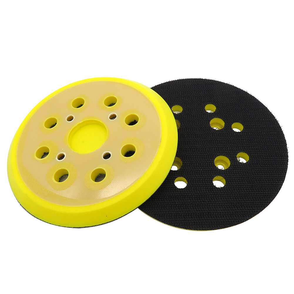125mm 8 Hole Polishing Self Adhesive Wear Resistance Pad Plate Sanding Disc For Electric Grinder Woodworking Abrasive Sandpaper