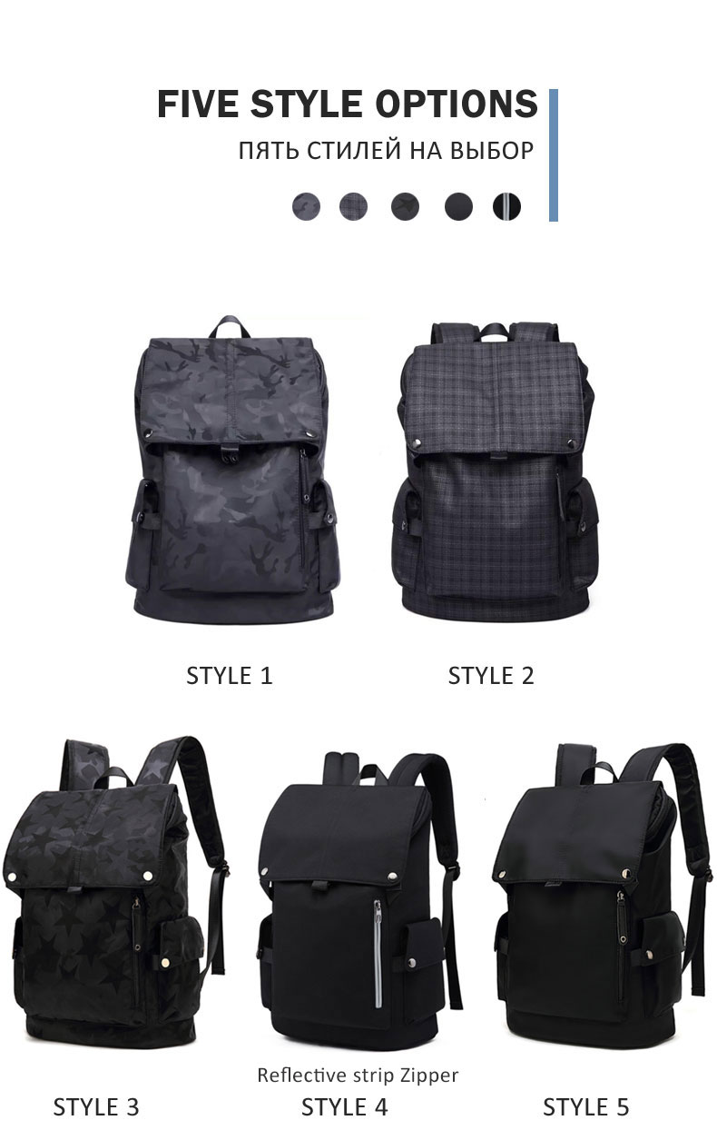 Men Waterproof Backpack HTB1ysI4atfvK1RjSspoq6zfNpXaj Backpack