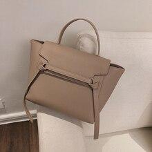 Unique Design Trapeze Shoulder Bags For Women Large Capacity Female Handbags High Quality PU Ladies Messenger 2019