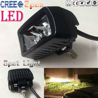 2pcs Super Bright Waterproof Car 4WD Truck Offroad SUV ATV Boat Bar LED Work Light Headlight