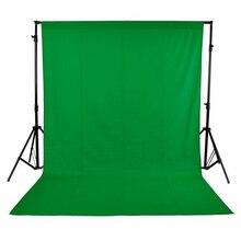 Mehofond fundo verde tela, backdrops chromakey tecido não tecido profissional de fotografia sólida para estúdio de fotos personalizado