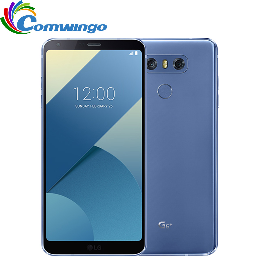 LG G6 Plus H870DSU G6+ Original Unlocked Dual 13MP Camera GSM 4G LTE Android Dual Sim Quad Core RAM 4GB ROM 128GB 5.7