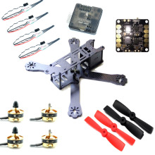 220mm 5″ FPV Race Quadcopter Drone Naze32 2204 Motor Mini ESC combo set for FPV