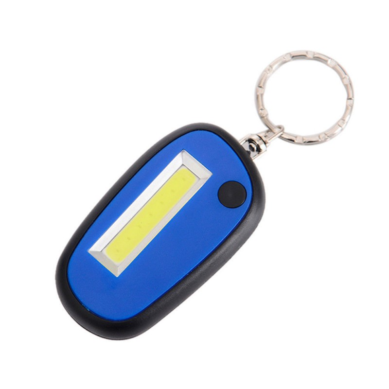 Creative Flashlight Light Outdoor Camping Hiking Light Emergy use Tools Tents light key Lamp Convience Outdoor Lights 4 Colors