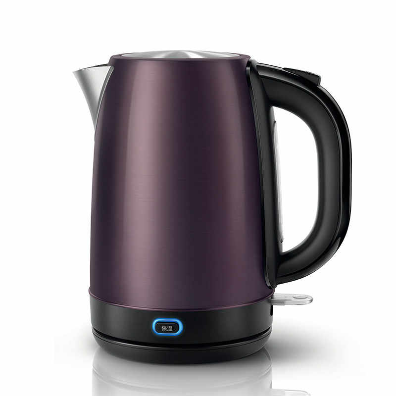 Electric kettle insulation stainless steel electric 1.7 litres