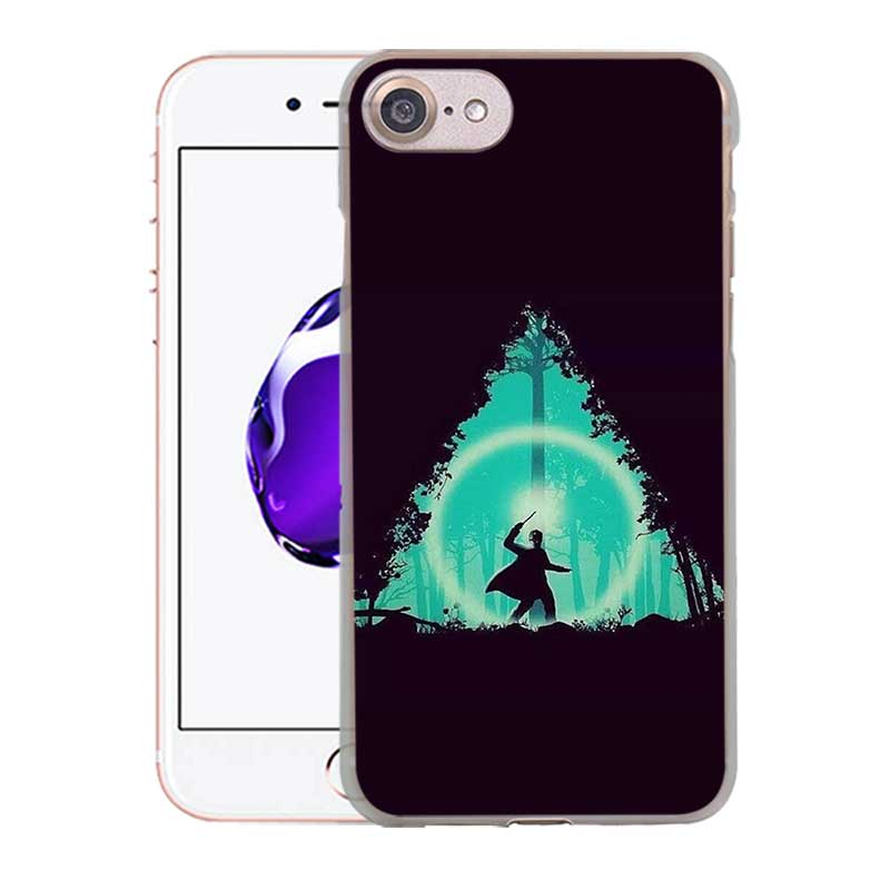 MOUGOL Harry Porter is a religion design transparent clear hard case cover for Apple iPhone 6 6S 6Plus 7 7Plus 5 5s SE 5C