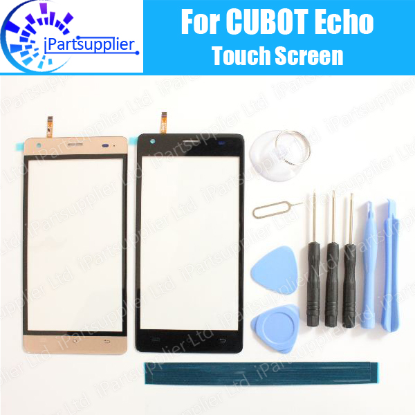 CUBOT ECHO Touch Screen Digitizer 100% Guarantee Original Digitizer Glass Panel Touch Replacement For CUBOT ECHO+ Tools