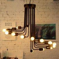 Спираль multi подвесная люстра Освещение Маяк светильники Лофт лампа лампочка Ретро античный бар Лампы для мотоциклов Lamparas маяк