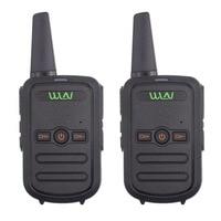 2pcs KD C51 MINI handheld fm transceiver KDC51 UHF400 470MHz two way Radio Ham communicator