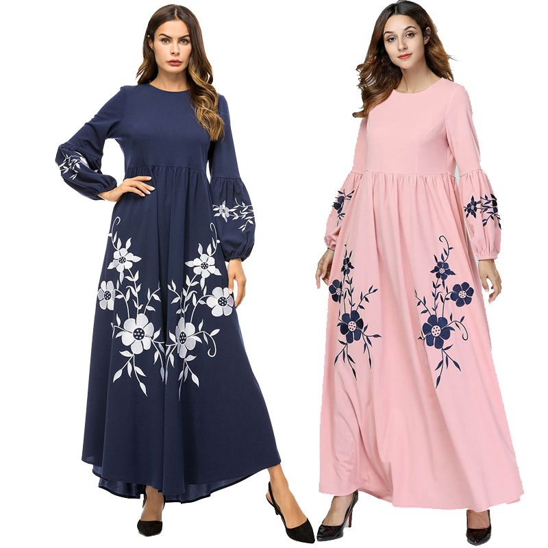 Long Abaya Turkish Islam Qatar Muslim Hijab Dress Abayas For Women Jilbab Robe Musulmane Kaftan Dubai Caftan Islamic Clothing