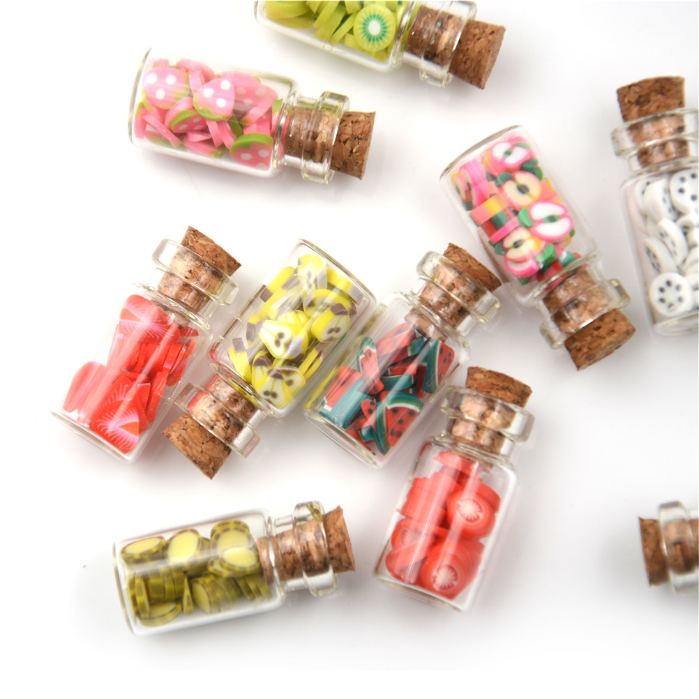 Cute little bottles for spices and decor. A great decoration for your interior.