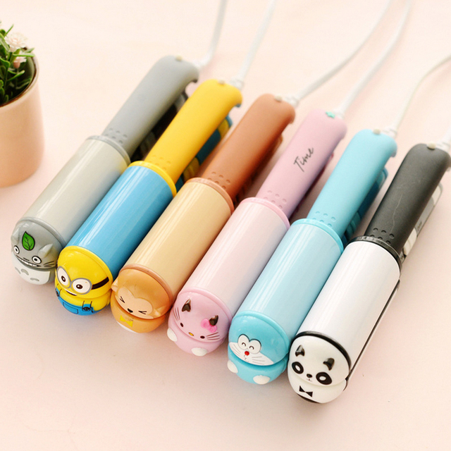 Compact Cartoon Themed Ceramic Hair Straightener