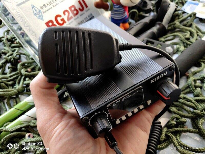 XIEGU G1M multi-banda QRP HF transceptor de radio de onda corta SSB CW 5w 0,5-30mhz